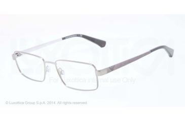 Armani EA1015 Progressive Prescription Eyeglasses 3010-53 - Gunmetal Frame