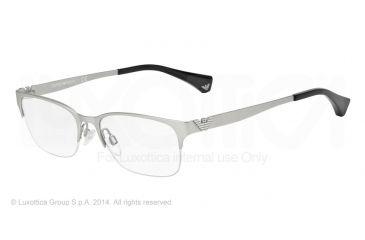 Armani EA1019 Bifocal Prescription Eyeglasses 3045-52 - Matte Silver Frame
