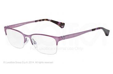 Armani EA1019 Bifocal Prescription Eyeglasses 3074-52 - Matte Violet Frame