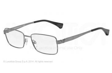 Armani EA1021 Progressive Prescription Eyeglasses 3003-53 - Matte Gunmetal Frame