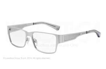 Armani EA1022 Eyeglass Frames 3045-53 - Matte Silver Frame