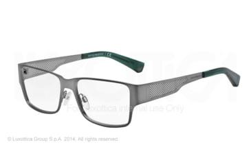Armani EA1022 Eyeglass Frames 3055-53 - Matte Grey Frame