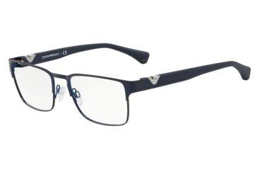 9c7d560edbe Armani EA1027 Eyeglass Frames 3100-53 - Matte Blue Frame