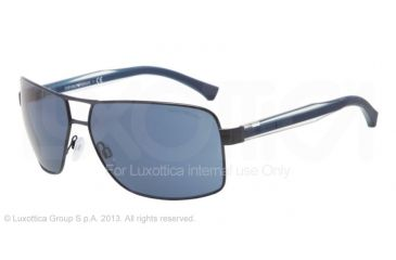 Armani EA2001 EA2001 Single Vision Prescription Sunglasses EA2001-301980-64 - Lens Diameter 64 mm, Frame Color Blue