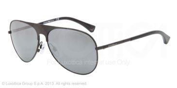 Armani EA2003 Bifocal Prescription Sunglasses EA2003-30146G-59 - Lens Diameter 59 mm, Frame Color Black
