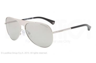 Armani EA2003 Bifocal Prescription Sunglasses EA2003-30156V-59 - Lens Diameter 59 mm, Frame Color Silver