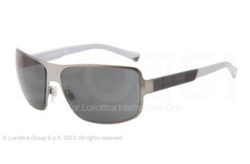 Armani EA2005 Progressive Prescription Sunglasses EA2005-300387-61 - Lens Diameter 61 mm, Frame Color Matte Gunmetal