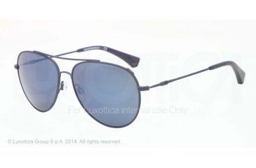 Armani EA2010 Single Vision Prescription Sunglasses EA2010-305696-57 - Lens Diameter 57 mm, Frame Color Matte Blue