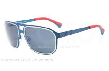 Armani EA2012 Bifocal Prescription Sunglasses EA2012-304296-58 - Lens Diameter 58 mm, Frame Color Matte Electric Blue