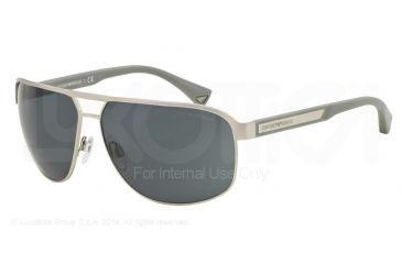 db4cf0797a8 Armani EA2025 Sunglasses 304587-64 - Matte Silver Frame