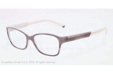 Armani EA3004F Eyeglass Frames 5048-52 - Striped Gray/light Gray Frame