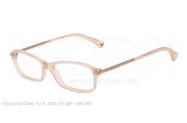 Armani EA3006 Eyeglass Frames 5084-51 - Opal Brown Pearl Frame