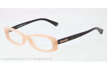 Armani EA3007F Single Vision Prescription Eyeglasses 5087-53 - Opal Beige Frame