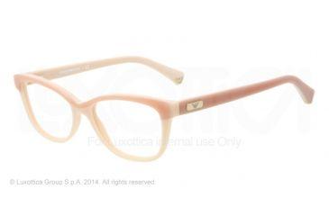 Armani EA3015 Single Vision Prescription Eyeglasses 5108-51 - Antique Pink/powder Pink Frame