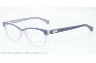 Armani EA3015F Eyeglass Frames 5109-53 - Grey/blue Frame