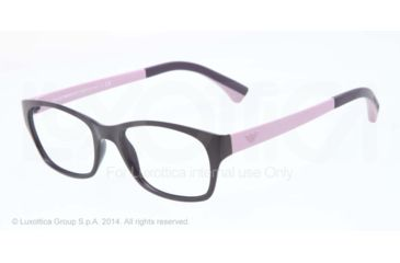 Armani EA3017 Single Vision Prescription Eyeglasses 5130-50 - Matte Violet Frame
