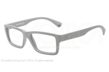 Armani EA3019 Single Vision Prescription Eyeglasses 5141-53 - Grey Frame