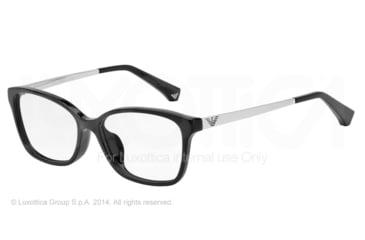 Armani EA3026F Bifocal Prescription Eyeglasses 5017-54 - Black Frame