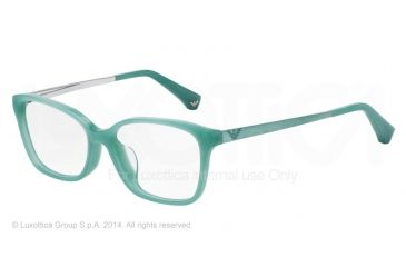 Armani EA3026F Bifocal Prescription Eyeglasses 5213-54 - Pearl Green Frame