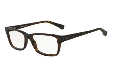 62c77533de72 Armani EA3057 Eyeglass Frames 5026-54 - Matte Havana Frame