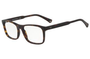 61183d71652 Armani EA3120 Progressive Prescription Eyeglasses 5002-53 - Matte Havana  Frame