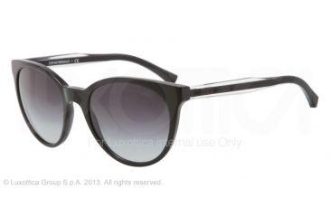Armani EA4003 Sunglasses 50178G-55 - Black Frame, Gray Gradient Lenses