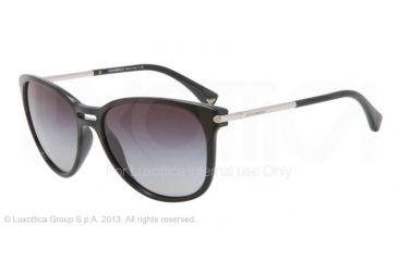 Armani EA4006 Sunglasses 50178G-56 - Black Frame, Gray Gradient Lenses