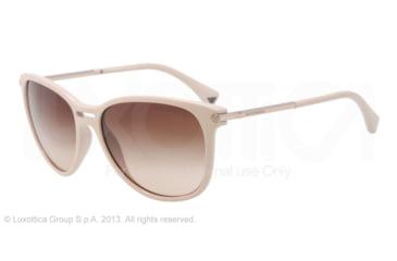 Armani EA4006 Sunglasses 507813-56 - Beige Frame, Brown Gradient Lenses