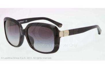Armani EA4008F Progressive Prescription Sunglasses EA4008F-50178G-56 - Lens Diameter 56 mm, Frame Color Black