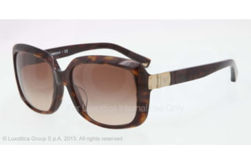 Armani EA4008F Progressive Prescription Sunglasses EA4008F-502613-56 - Lens Diameter 56 mm, Frame Color Dark Havana