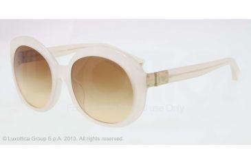 Armani EA4009F Sunglasses 50822L-56 - Opal Beige Frame, Brown Gradient Lenses
