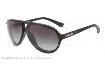 Armani EA4010 Progressive Prescription Sunglasses EA4010-50428G-67 - Lens Diameter 67 mm, Frame Color Matte Balck