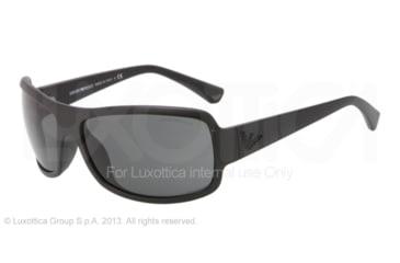 Armani EA4012 Progressive Prescription Sunglasses EA4012-504287-63 - Lens Diameter 63 mm, Frame Color Matte Black