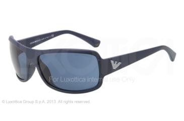 Armani EA4012 Progressive Prescription Sunglasses EA4012-505980-63 - Lens Diameter 63 mm, Frame Color Matte Dark Blue