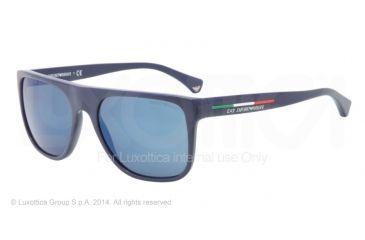 40112a2f553 Armani EA4014M Sunglasses 521296-56 - Blue Frame