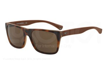 b48b71f88241 Armani EA4048F Sunglasses 539173-57 - Top Havana matte Brown Frame