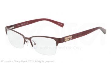 Armani Exchange AX1004 Eyeglass Frames 6013-52 - Satin Berry Frame