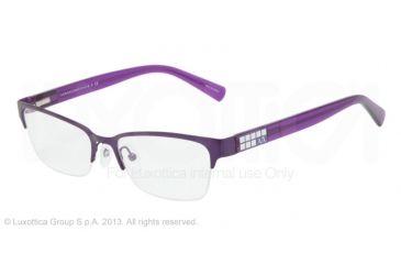 Armani Exchange AX1004 Eyeglass Frames 6015-52 - Satin Bright Grape Frame