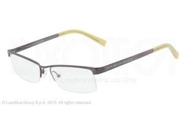 Armani Exchange AX1005 Single Vision Prescription Eyeglasses 6003-52 - Gunmetal Frame