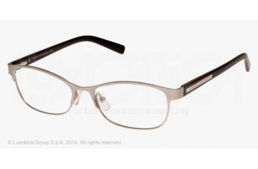 Armani Exchange AX1010 Eyeglass Frames 6027-53 - Satin Silver/black Frame