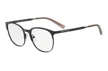 a0ca33fda71e Armani Exchange AX1025 Eyeglass Frames 6000-53 - Black Frame