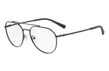 d104b36537 Armani Exchange AX1029 Prescription Eyeglasses 6063-57 - Matte Black Frame