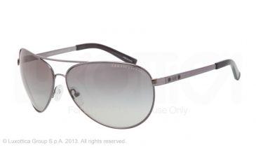 Armani Exchange AX2006 Sunglasses 600611-63 - Gunmetal/Black Frame, Grey Gradient Lenses