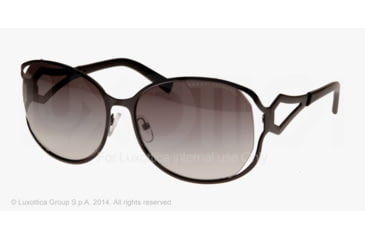 Armani Exchange AX2009S Sunglasses 600011-59 - Black Frame, Grey Gradient Lenses