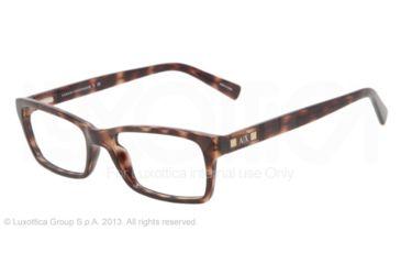 Armani Exchange AX3007 Progressive Prescription Eyeglasses 8037-53 - Tortoise Frame