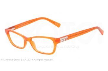 Armani Exchange AX3008 Eyeglass Frames 8014-49 - Clementine Transparent Frame