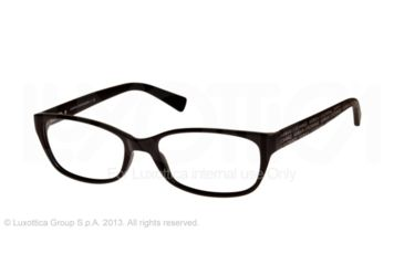 Armani Exchange AX3009 Single Vision Prescription Eyeglasses 8004-53 - Black Frame