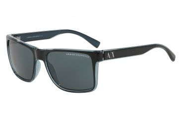587cc772406 Armani Exchange AX4016 Single Vision Prescription Sunglasses  AX4016-805187-57 - Lens Diameter 57