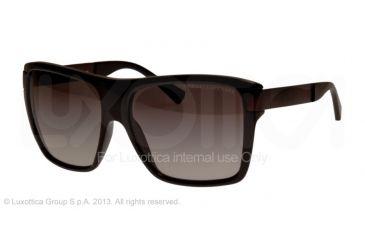 Armani Exchange AX4018 Sunglasses 800411-59 - Black Frame, Grey Gradient Lenses