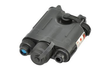 Armasight Drakos II Dual Chanel: IR Laser Pointer Class 1 & Visible Red Laser Pointer Class 1 with Quick Release Mount and Wireless Remote Control, Black IAIR002LP000001